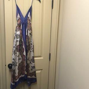 Nicole Miller Scarf Dress